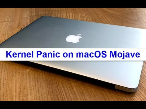 Kernel Panic on macOS Mojave? Here's the fix