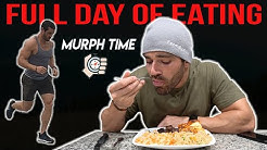I completed my first MURPH | what I EAT in a day