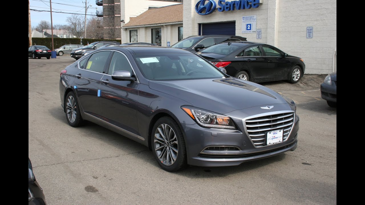 2015 Hyundai Genesis 3.8 Sedan Review And Test Drive