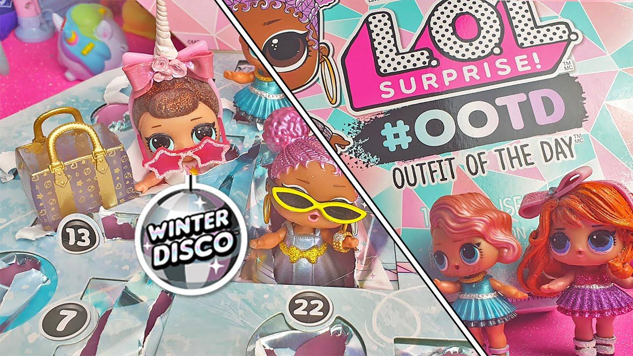 Lol Surprise Calendario Dellavvento.Il Calendario Dell Avvento Lol Surprise Winter Disco Ootd Outfit Of The Day Unboxing
