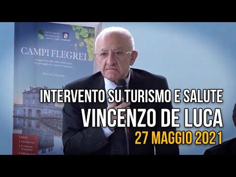 Turismo e Salute, intervento del governatore De Luca