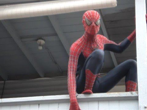 Spider-Man COSTUME REPLICA Movie Prop - YouTube