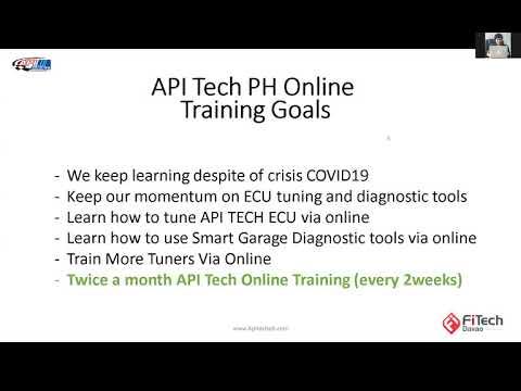 API Tech PH Online Training Batch 13 -  Tuning Sniper V2