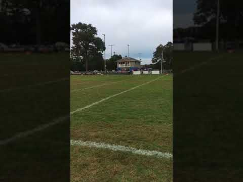 Between Downs At A Midget League Football Game In Millville Nj Youtube