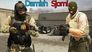 Sjomi VS Damish - CSGO Med Vilde Settings