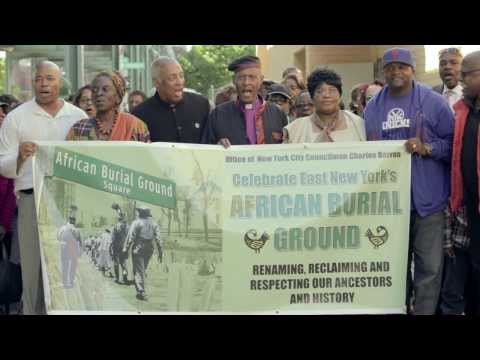 Charles Barron-African Burial Ground Square Street Renaming