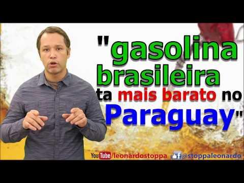 Gasolina brasileira esta mais barata no Paraguay