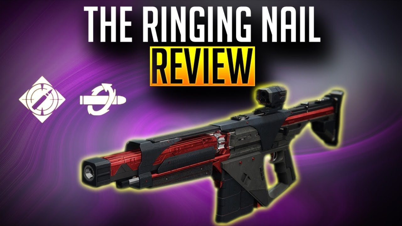 The Ringing Nail Review | Black Armory Forge Weapon | Destiny 2 Forsaken