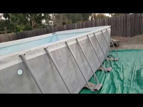 Intex pool 12 X 24 X 52 high going on 5 years