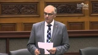 Perth-Wellington MPP Randy Pettapiece responds to Minister of Government and Consumer Services