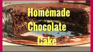 Homemade Chocolate Cake | My American Father inlaw | Filipina Life in US