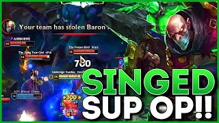 FIRST TIME SINGED SUPPORT STEALS BARON IN HIGH DIAMOND??