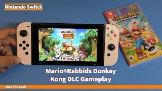 Mario + Rabbids Donkey Kong DLC Gameplay