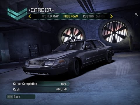 Need For Speed Carbon(2006): Ford Crown Victoria, Replace 1967 Camaro [Download]