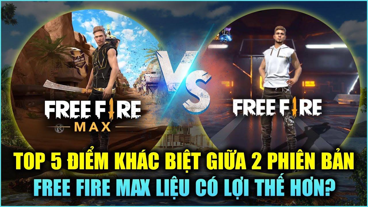 Free Fire | TOP 5 Điểm Khác Biệt Giữa Free Fire MAX Và Free Fire Thường | Rikaki Gaming