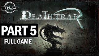 Deathtrap Walkthrough Part 5 Cave of Valor - Full Game Let