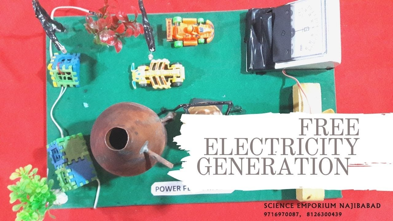 How to make Steam Power Generator - a cool science project with easy ...