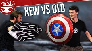 Which Captain America Shield is better!? (NEW vs OLD)