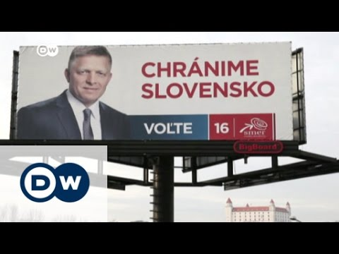 Anti-refugee propaganda in Slovakia campaign | DW News