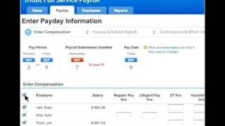 Intuit Full Service Payroll -- See it in Action
