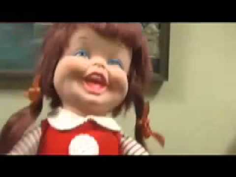 Funny Video Evil Doll Laughing Baby Laugh a Lot Fail Toys Review Mike  Mozart @JeepersMedia