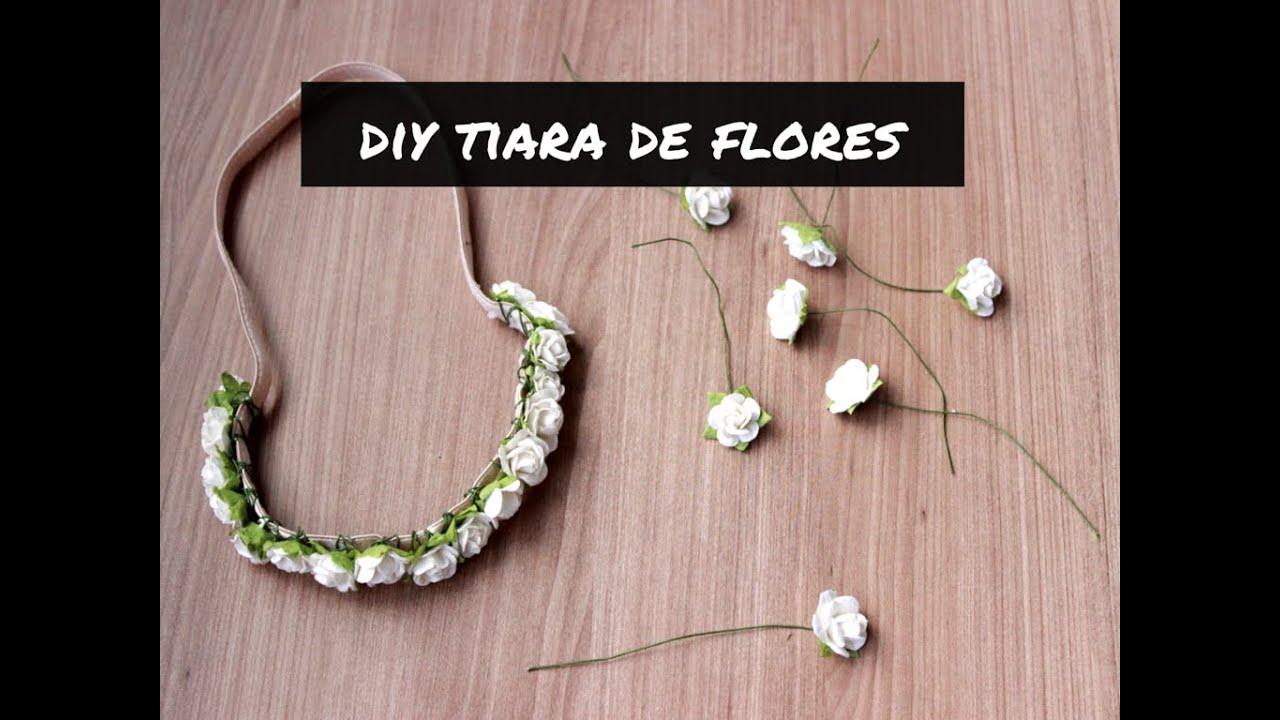 COMO FAZER TIARA DE FLORES PARA O CARNAVAL - YouTube 8aa733da7d7
