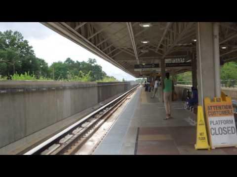 MARTA: Doraville bound Gold Line train at Oakland City