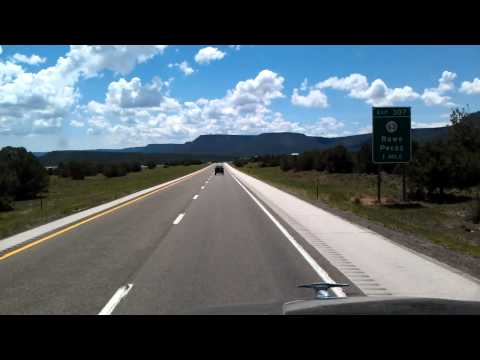 Just North of Santa Fe, New Mexico Interstate 25