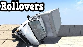 BeamNG Drive 0.4.1.2 - Rollovers