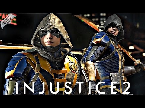 Injustice 2 Online - EPIC ROBIN COMBOS!
