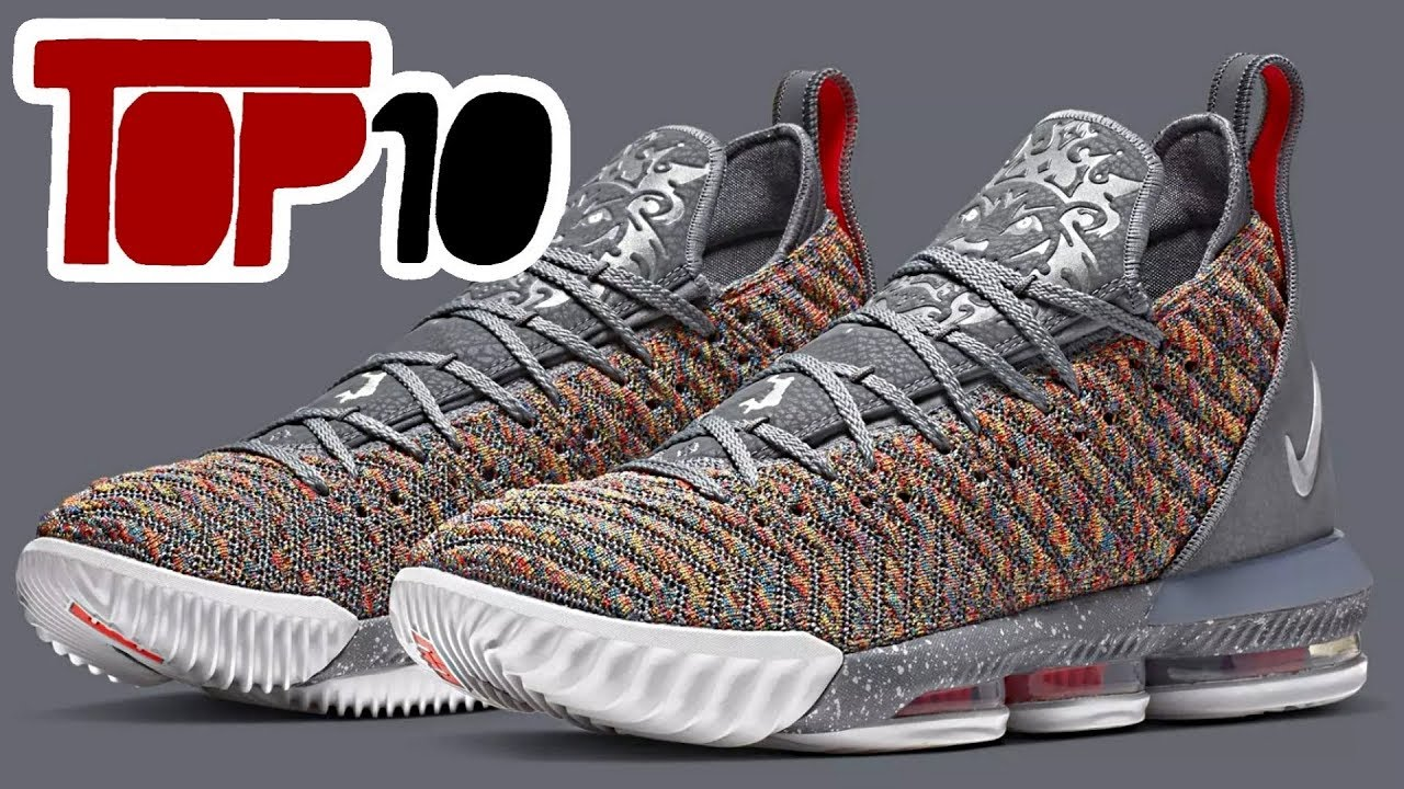 1e682d69d166 Top 10 Most Comfortable Basketball Shoes of All Time - YouTube