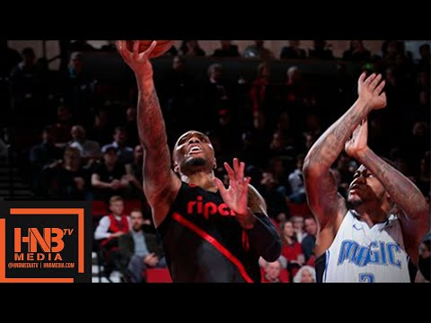 Orlando Magic vs Portland Trail Blazers Full Game Highlights | 11.28.2018, NBA Season