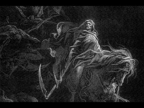 War, Famine, Pestilence and Death - the Four Horsemen