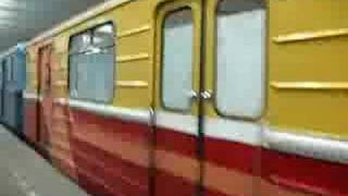 Moscow metro - track measuring train