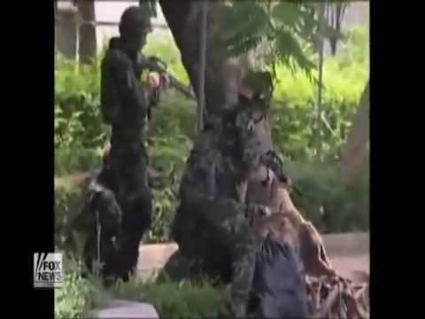 ทหารสั่งการ  มีคนเหรอ ยิงเลย May,19 2010