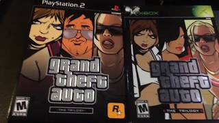 Grand Theft Auto The Trilogy UNBOXING