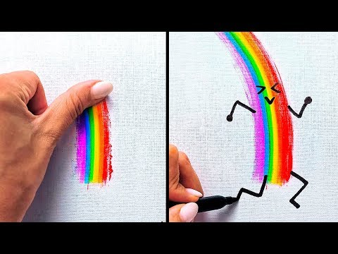 16 CUTE AND EASY FINGER PAINTING IDEAS