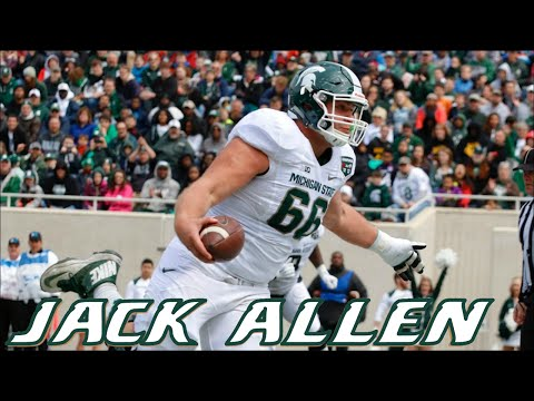 Jack Allen vs Michigan 2014