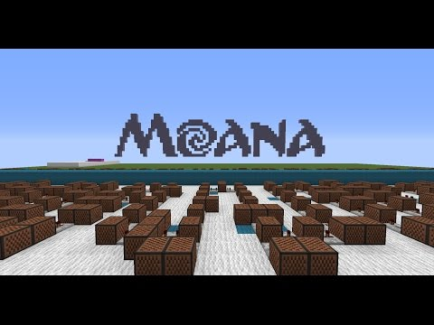 Moana - You're Welcome [Minecraft Noteblocks]