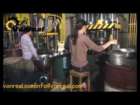 deep drawing hydraulic press VONREAL