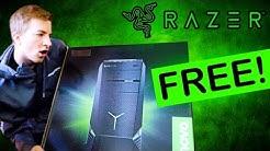 WHAT!! RAZER SENT ME A DESKTOP PC (AND MONITORS)! [Lenovo Y900 & Lenovo Y27g]