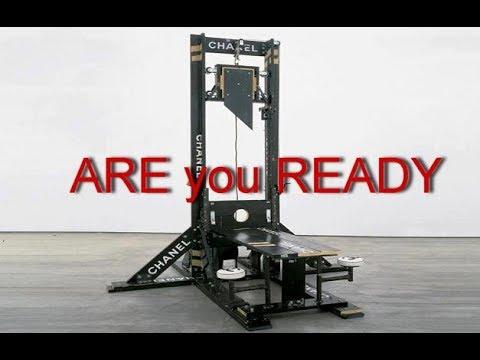guillotines at U.S. military bases 2018
