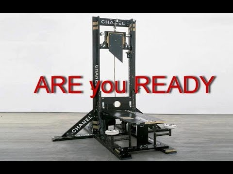 guillotines at US military bases 2018
