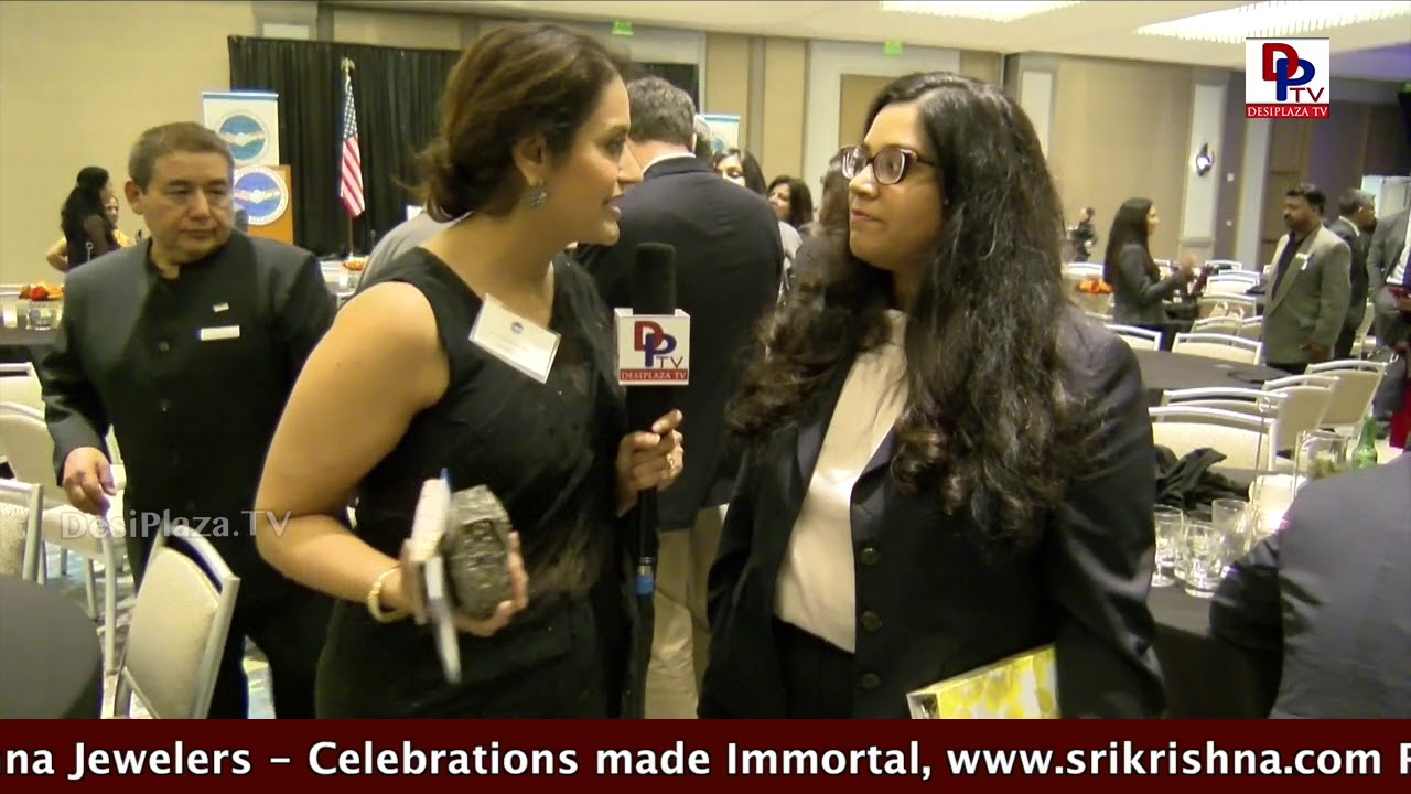 President of USICOC  Neelima at DFW Annual Awards Banquet - 2017