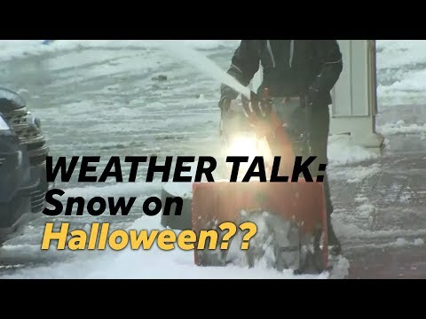 SNOW On Halloween In Baltimore?? Plus, Weather Talk Discusses UFOs