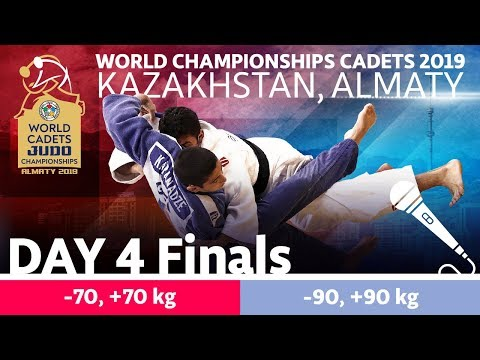 World Judo Championship Cadets 2019: Day 4 Finals