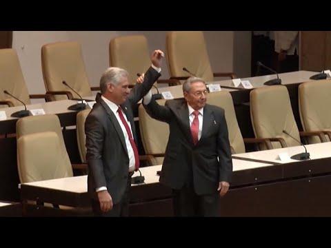 Cuba's Raul Castro passes baton to loyal successor Miguel Diaz-Canel