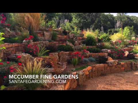 Xeriscaping in Santa Fe, New Mexico | McCumber Fine Gardens
