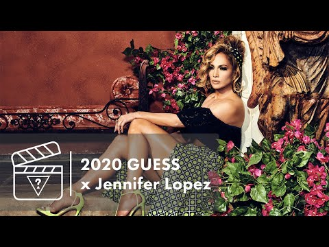Behind The Scenes: GUESS x Jennifer Lopez Spring Campaign 2020