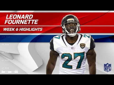 Leonard Fournette's Fantastic Day w/ 130 Yards & 1 TD! | Rams vs. Jaguars | Wk 6 Player Highlights